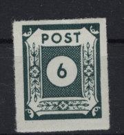 Ost Sachsen Michel No. 43 b VIII ** postfrisch