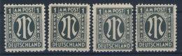 Bizone Michel No. 16 A,B,C,D ** postfrisch