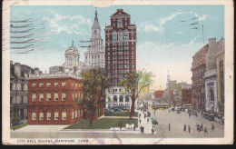 CPA - (Etats Unis) City Hall Square Hartford Conn - Hartford