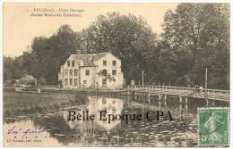 27 - ÉZY - Usine Desorges - Ancien Moulin Des Cordeliers ++++++ Ch. Foucault, Dreux, #7 +++++ Vers Saint-Mandé, 1913 - Autres Communes