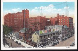 CPA - (Etats Unis) The Esatland And Congress Square Hotels Portland Maine - Portland