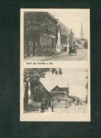 AK - Riedstadt - Gruss Aus Erfelden A. Rhein ( Deux Vues Animées Verlag J. Blume) - Riedstadt