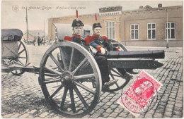 Armée Belge. Artilleurs Aux Pièces. 24 - Bélgica