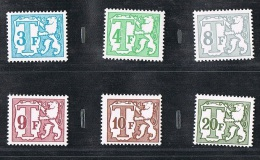 Année 1996 - Timbres Taxes - Lot Divers - Taxes