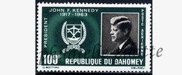 -Dahomey PA  34**J.KENNEDY - Bénin – Dahomey (1960-...)