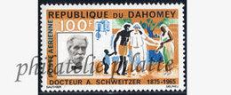 -Dahomey PA  35**DR A.SCHWEITZER - Bénin – Dahomey (1960-...)