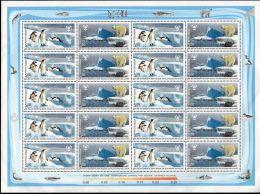 19.12.2009, Protection Des Régions Polaires Et Des Glaciers, YT 2214 + 2215  En Feuille (10 X) Neuf **, Lot 42158 - Blokken & Velletjes
