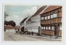 Vintage Denmark Kalundborg, Gamle Huse Street Scene Pc Unused - Denmark