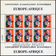 -Dahomey Feuillet 257/5**8 - Bénin – Dahomey (1960-...)