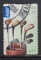 Australia Used 2011 Scott #3574 $2.35 Bag Of Golf Clubs - Presidents Cup Golf Tournament - 2010-... Elizabeth II