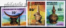 -Djibouti 460/62** - Dschibuti (1977-...)