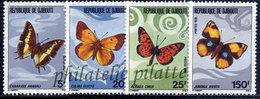 -Djibouti 477/80**Papillons - Dschibuti (1977-...)