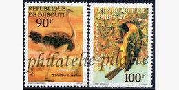 -Djibouti 463/64**Oiseaux - Djibouti (1977-...)