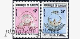 -Djibouti 481/82**Bijoux - Dschibuti (1977-...)