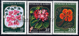 -Djibouti 483/85**Fleurs - Dschibuti (1977-...)