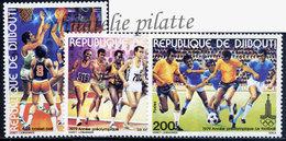 -Djibouti 509/11**Football - Dschibuti (1977-...)