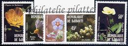 -Djibouti 504/08**Fleurs - Dschibuti (1977-...)