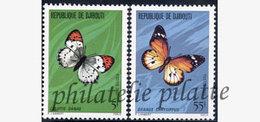 -Djibouti 517/18**Papillons - Dschibuti (1977-...)