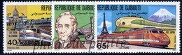-Djibouti 531/33**Trains - Djibouti (1977-...)