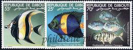 -Djibouti 527/29**Poissons - Djibouti (1977-...)