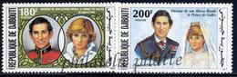 -Djibouti 535/36**Famille Royale - Djibouti (1977-...)