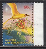Christmas Island Used 60c Bird Carrying Present (sheet Stamp) - Christmas - 2010 - Christmas Island