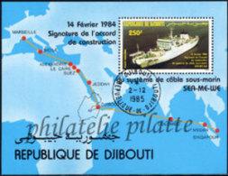-Djibouti Bloc   3 Obl** - Dschibuti (1977-...)