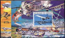 -Djibouti Bloc   6/8 (M) Obl** - Djibouti (1977-...)