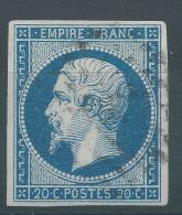 Lot N°26730    N°14A, Oblit Losange, Bonne Marges, - 1853-1860 Napoleone III