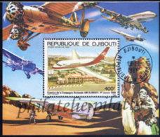-Djibouti Bloc  12 (M) Obl** - Djibouti (1977-...)