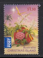 Christmas Island Used $1.30 Present On Beach (sheet Stamp) - Christmas - 2010 - Christmas Island