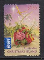 Christmas Island Used $1.30 Present On Beach - Christmas - 2010 - Christmas Island