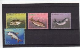 Malawi 212/215**** Vissen,fishes,poissons - Malawi (1964-...)