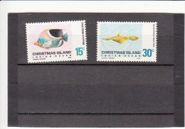 Christmaseiland 35/36** Vissen,fishes,poissons - Christmas Island