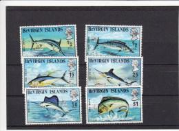 Britse Maagdeneilanden 1972** Vissen,fishes,poissons - Iles Vièrges Britanniques