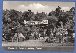 MARINA DI MASSA - F/G   B/N  Lucida -Camping Tirreno  (260809) - Massa