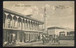 ALBANIA ALBANIEN SHKODRA OLD POSTCARD #162 MILITARY K.U.K. CENSOR ULCINJ & BAR - Albanien