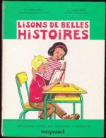 J. & A. Juredieu - Lisons De Belles Histoires - Éditions Magnard - ( 1966 ) . - 6-12 Jahre