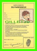 COMICS - HUMOUR - CARTE D'IDENTITÉ DU PARESSEUX - FLORÈS ET FILS INC, 1980 - - Bandes Dessinées