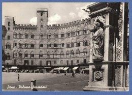 SIENA -  Palazzo Sansedoni - F/G  B/N   lucida  (260809)