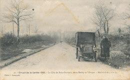 T T 947 / C P A  LE MANS  (72) CIRCUIT DE LA SARTHE - LA COTE DE SAINT-SAUVEUR  ENTRE BERFAY  ET VIBRAYE - France