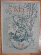 L� illustration  (N� 2775 - 2 Mai 1896) Salon