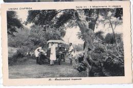 AFRICA L'ISTITUTO MISSIONI AFRICANE .DI VERONA SERIE VII.- II MISSIONARIO IN VIAGGIO AUTOMOBILE CARTOLINA - Missioni