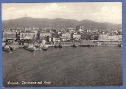 LIVORNO - IL PORTO - F/G B/N Lucido  (260809) - Livorno