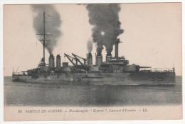 """86  Marine De Guerre  -  Dreadnoughts  """" Diderot  """" Cuirassé D´Escadre - LL  , Neuve - Guerra"""