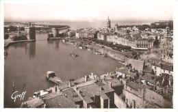 LA ROCHELLE ,VUE GENERALE DU PORT ,A VOIR !! REF 39610 - La Rochelle