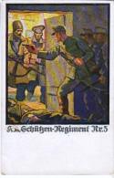 AK MILITARIA  WWI K.K.GRH�KEN.REGIMENT  No.3.  DER RUSSISCHER FRONT ALTE POSTKARTEN