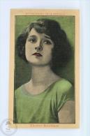 Trading Card/ Chromo Topic/ Theme Cinema/ Movie - Spanish Chocolate Advertising  - Actress: Eleanor Boardman - Otros