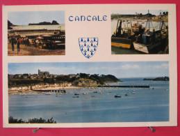 35 - Cancale - Le Port De La Houle - Les Parcs à Huîtres Et Le Rocher - Scans Recto-verso - Cancale