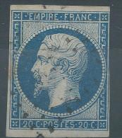 Lot N°26768    N°14A, Oblit PC - 1853-1860 Napoleone III